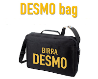 Logo Concorso Birra DESMO : vinci gratis la DESMO Bag