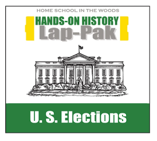 Home School in the Woods U.S. Elections Lap-Pak cover