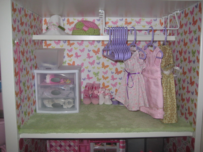 Mom Brag American Girl Sized Doll House Toy Car Garage