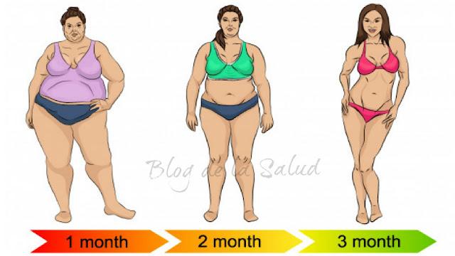 Bajar de peso 30 kilos en dos meses y