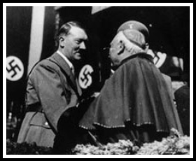 Hitler meeting with man