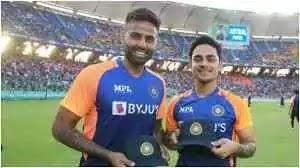 ईशान किशन और सूर्यकुमार यादव ने अंतराष्ट्रीय टी-20 और ODI मैच मे एक साथ किया डेब्यु