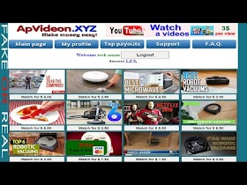 How to make money by watching youtube video apvideon.xyz review apvideon scam/legit earn money