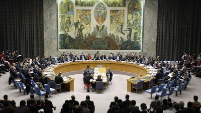 Una sesión del Consejo de Seguridad de las Naciones Unidas (CSNU).