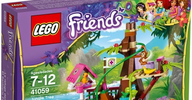 Brickstoy Lego Review Lego Friends Jungle Tree Sanctuary 41059