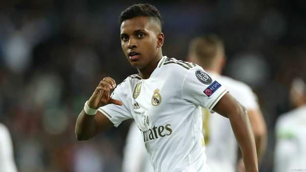 Rodrygo Powers Real Madrid Past Galatasaray