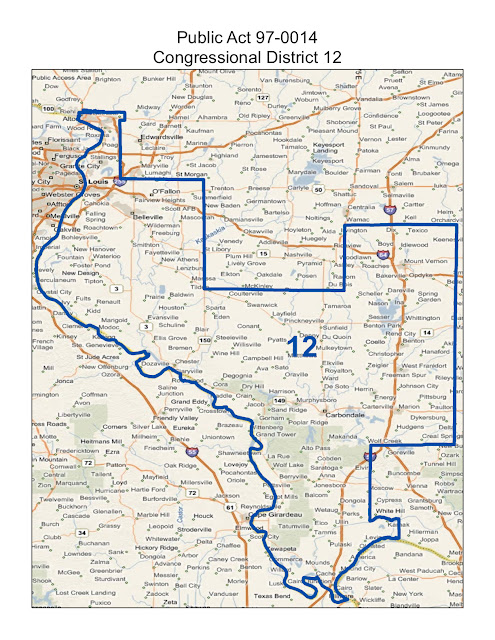 illinois 3rd congressional district - 495×640