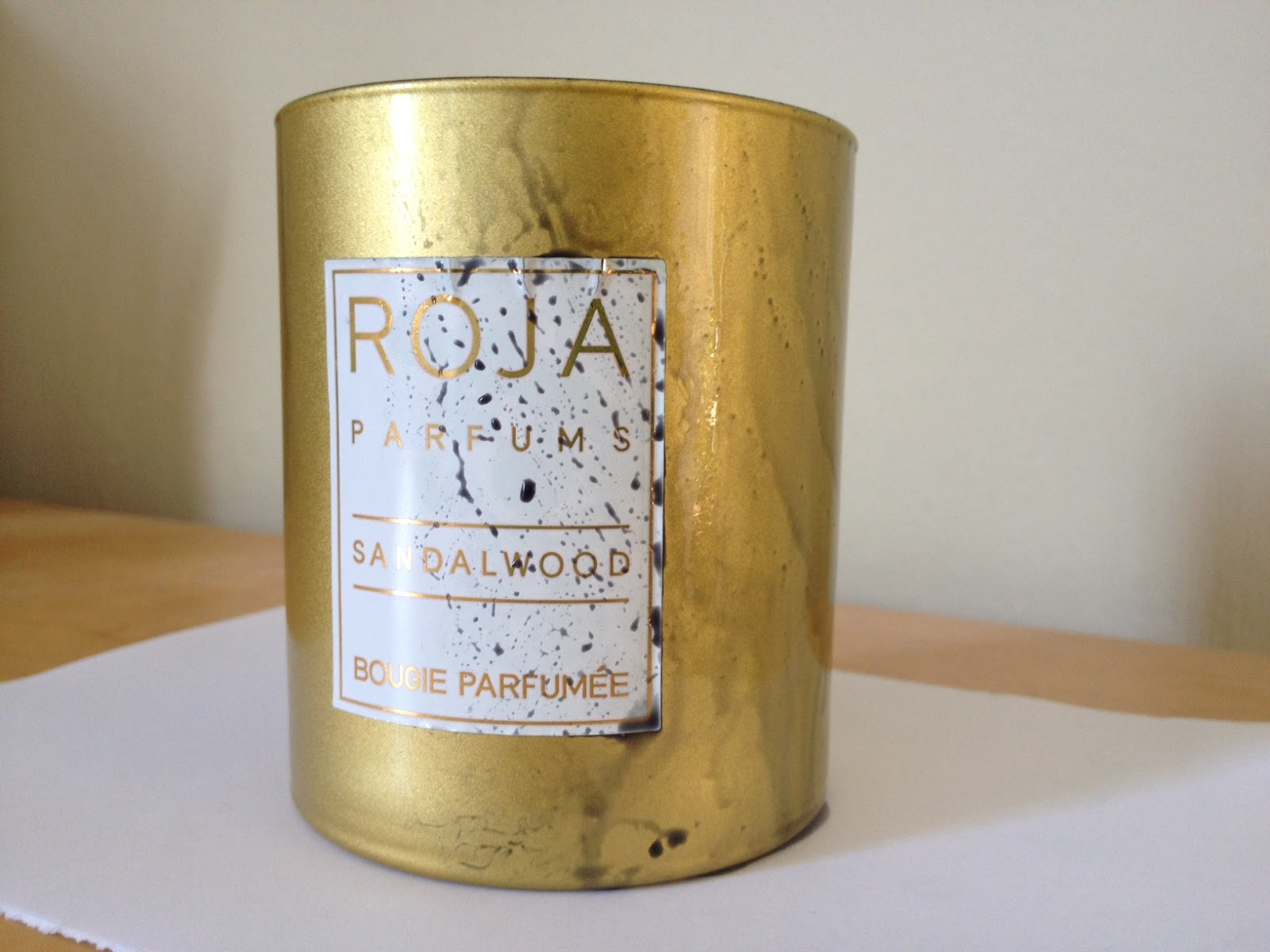 Lets Drip Together Roja Parfums Sandalwood Candle, And Thoughts On