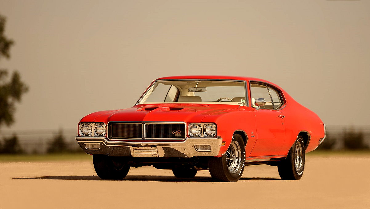 MUSCLE CAR COLLECTION : 1970 Buick Skylark GS Stage 1 Coupe 2-Door ...