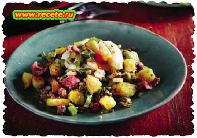 Hearty mince hash