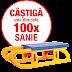 Castiga 100x Sanie din plastic POMBAR