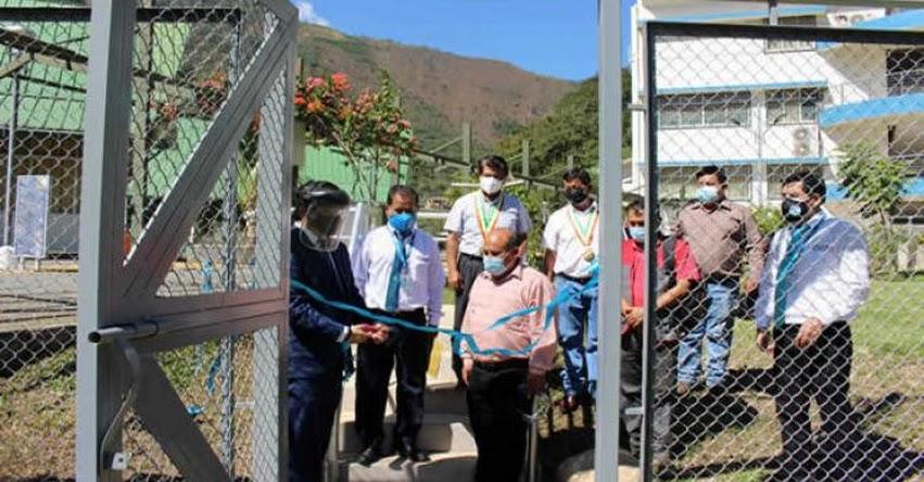 MINEDU inaugura infraestructura deportiva de la Universidad Nacional Intercultural de Quillabamba