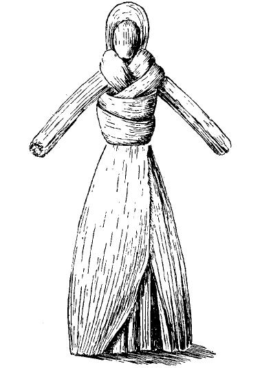 кукла из кукурузного листа