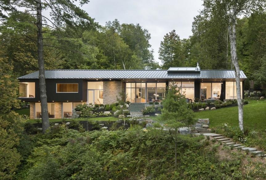 Дом в канаде на берегу озера аренда недвижимости в дубае без посредников