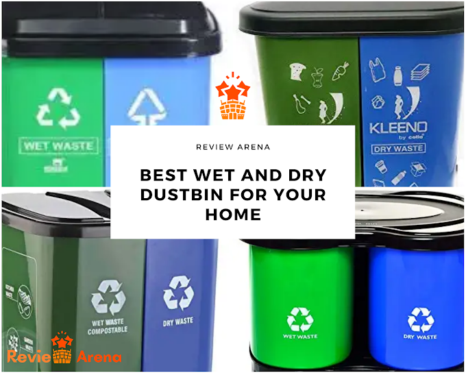 5 Best Wet and Dry Dustbin for Home in India 2020 - Reviews