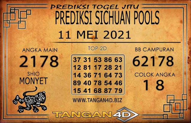 PREDIKSI TOGEL SICHUAN TANGAN4D 11 MEI 2021
