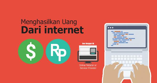 dimana sudah sangat banyak pengguna internet bisa menghasilkan uang dari internet dengan  Tips Jitu Cara Menghasilkan Uang Dari Internet di Tahun Ini