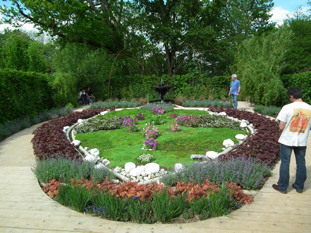 Show garden at the Chateau of Chaumont, Loir et Cher, France. Photo by Loire Valley Time Travel.