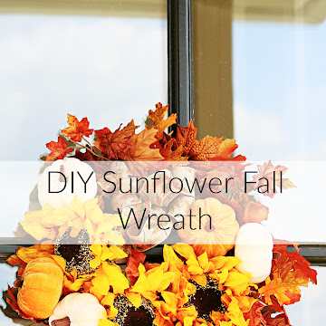 How To Make A Burlap Bow and Sunflower Fall Wreath DIY