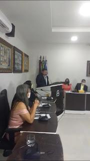 Tiago Pereira fala pela primeira vez agora como vereador de Cacimba de Dentro