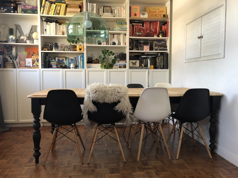 Interiors   Pine table makeover