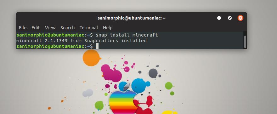 Install MineCraft (Latest Version) on Linux Ubuntu 18 04 'Bionic