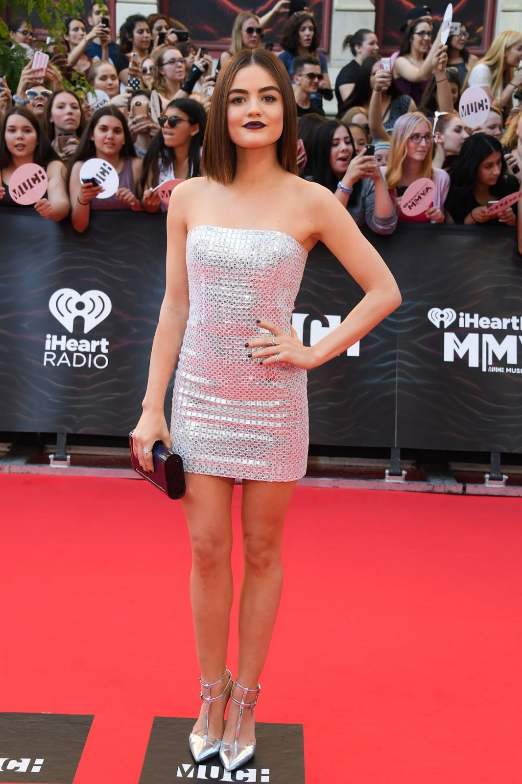 Lucy Hale at MuchMusic Video Awards 2016 in Toronto