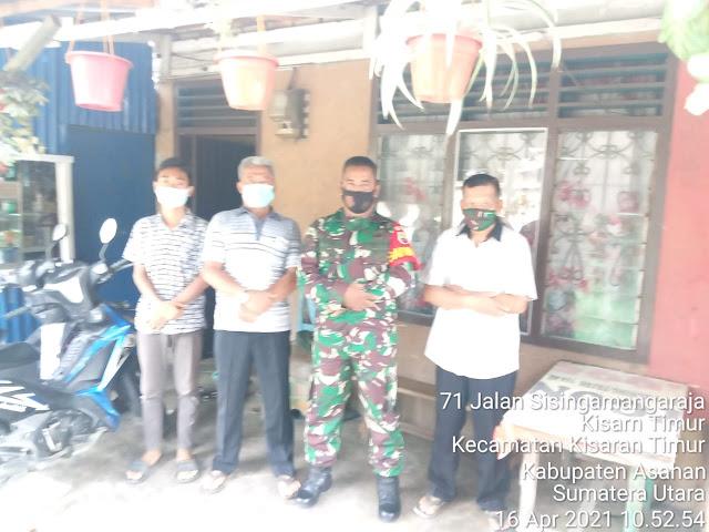 Dengan Komunikasi Sosial Personel Jajaran Kodim 0208/Asahan Jalin Silaturahmi Bersama Kepling Dan Warga Binaan