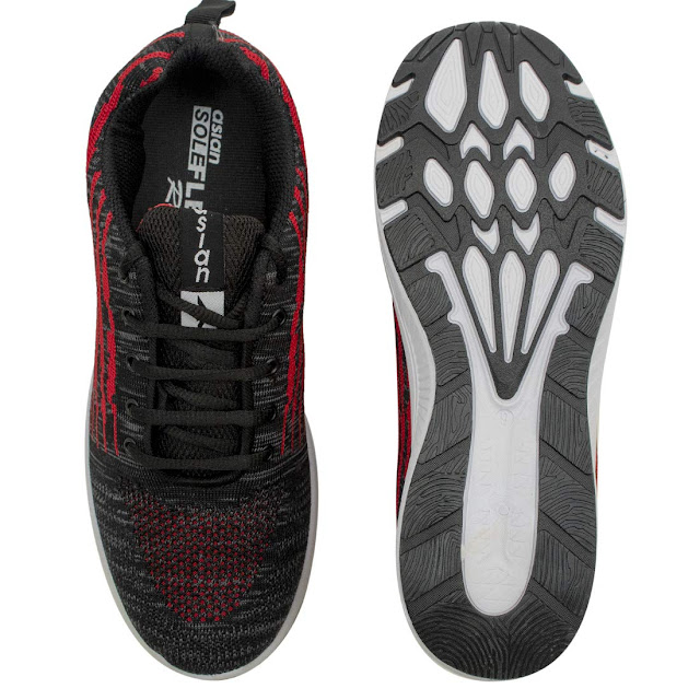 ASIAN Men's Trigger-04 Sports Shoes, Running Shoes, Walking Shoes, Laceup Shoes (2 Colors)