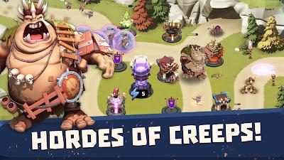 Castle Creeps TD V1.50.0 MOD APK – PARA  ELMAS HİLELİ