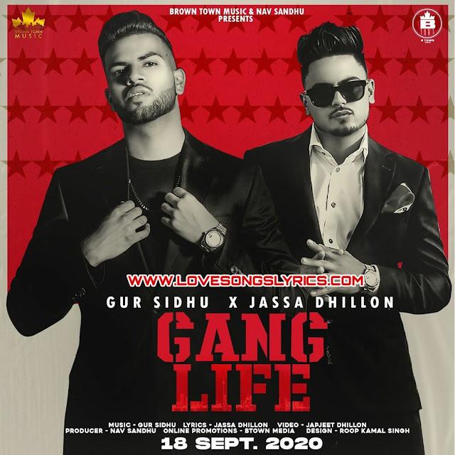 Gang life lyrics - Gur Sidhu