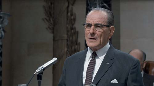 Bryan Cranston as Lyndon B. Johnson in All the Way