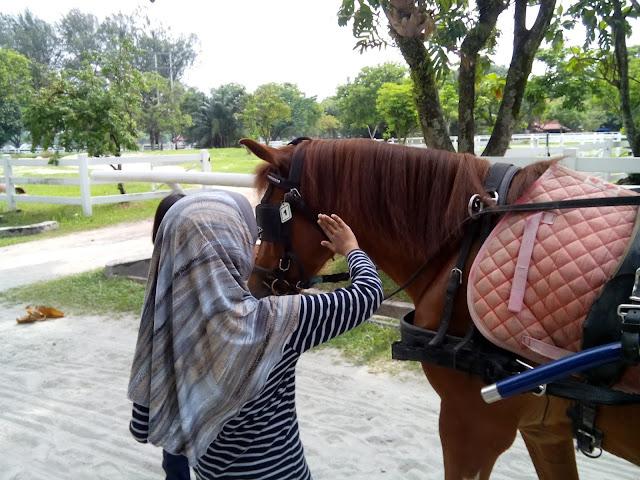Tunggang kuda horse riding RM1 di Kuala Lumpur