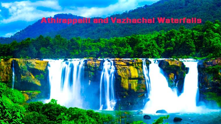 త్రిశూర్లోని అతిరాపల్లి వజచల్ జలపాతాలు కేరళ పూర్తి వివరాలు Athirappalli Vazhachal Waterfalls in Thrissur   Full details of Kerala
