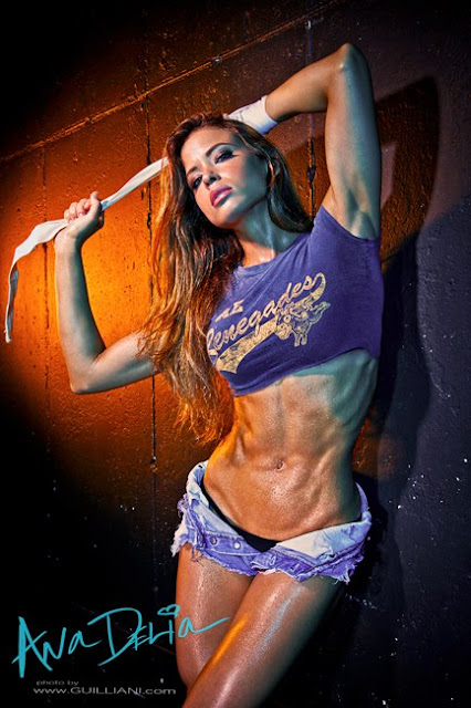 Ana Delia Fitness Model Photos