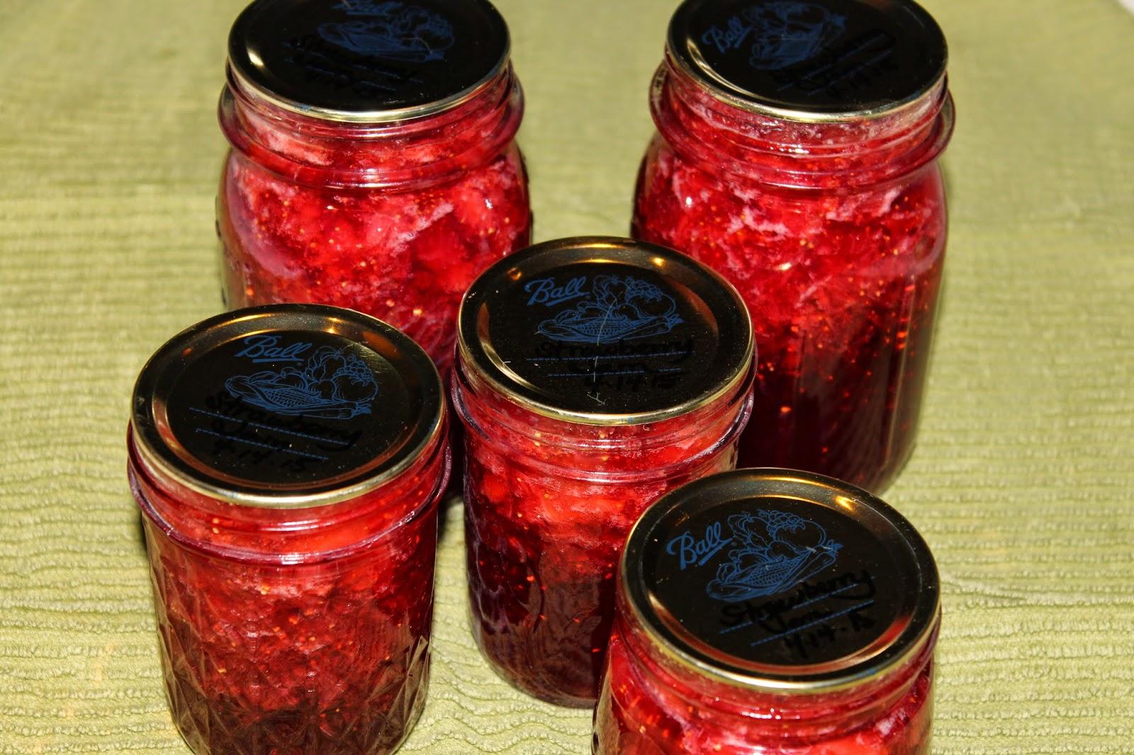 IMG 4478 - Homemade Strawberry Jam