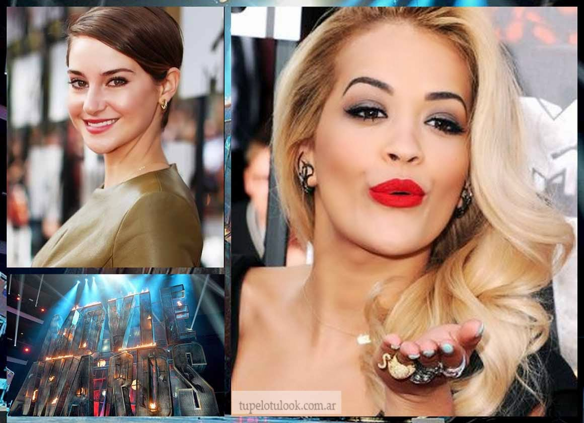 cortes de pelo 2014 MTV Movie Awards