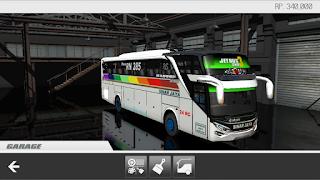 Livery Sinar Jaya ES Bus Simulator ID 2