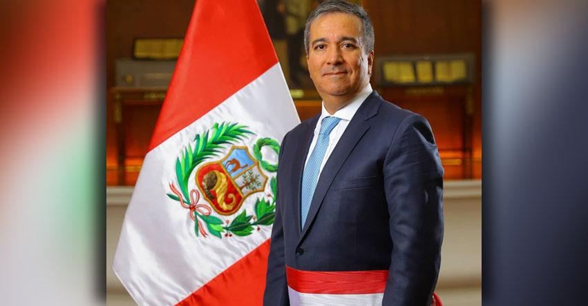 Raúl Ricardo Pérez-Reyes Espejo juramentó como nuevo Ministro de la Producción [VIDEO]