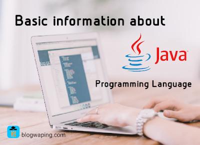Basic Information About Java Programming Language