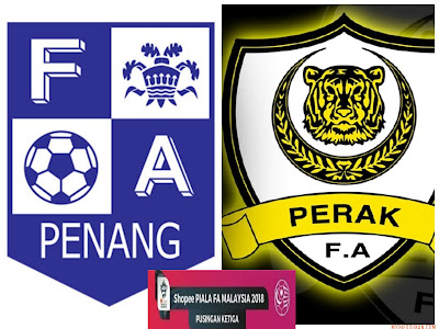 Live Streaming Penang FA vs Perak Piala FA Malaysia 17 Mac 2018