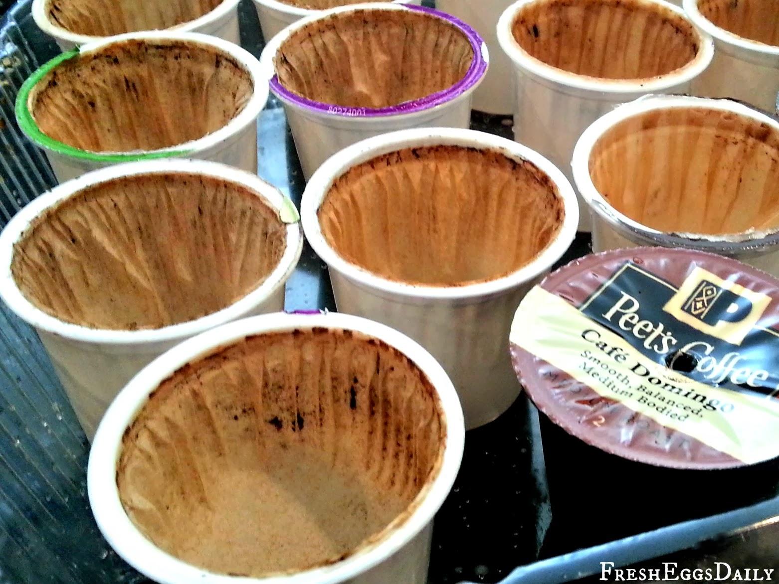 K-Cup Recycling: Toss the Grounds in your Garden and Turn the Cups ...