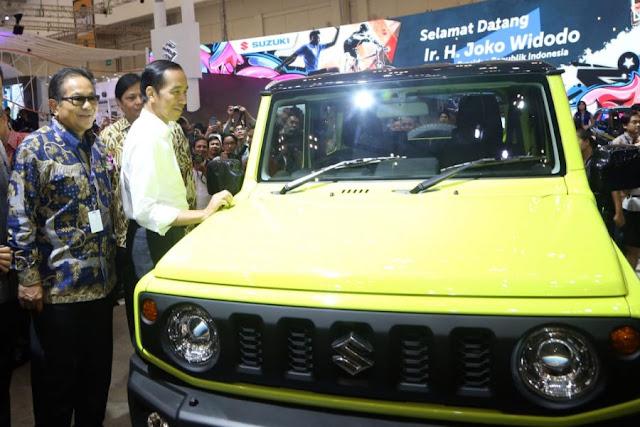Suzuki Jimny Mobil Pertama Jokowi