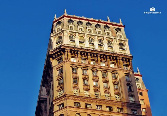 Close-up da Cobertura do Edifício Martinelli - Centro - São Paulo