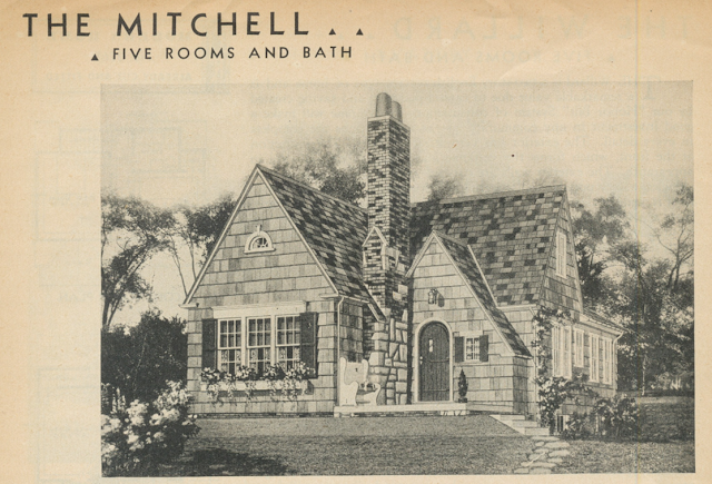 Sears Mitchell showing front with 3 standard sized windows