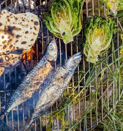 وصفة | طبخ |على طريقة المطاعم  |وصفة سمك الماكريل المشوي