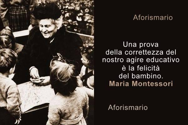 Aforismario Citazioni E Frasi Pedagogiche Di Maria Montessori