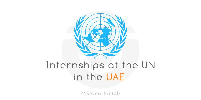 UN Internships in the UAE 2021