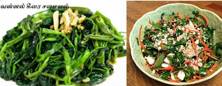 water spinach food