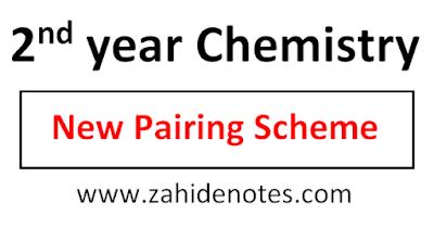2nd year chemistry pairing scheme 2021 new pdf punjab boards